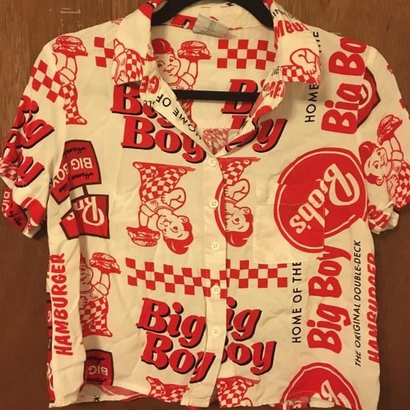 Big Boy blouse size small